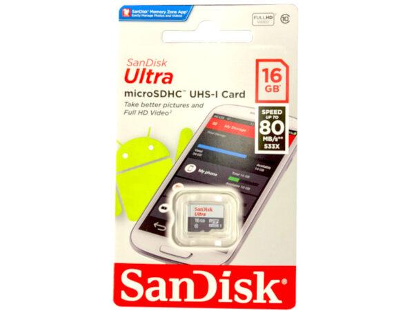 SanDisk 16GB MicroSD