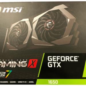 MSI GTX 1650